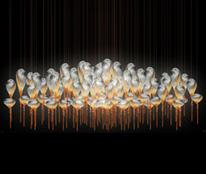 九鼎灯具神奇艺术展示灯